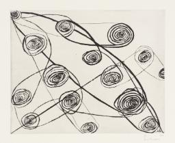 Untitled (Safety Pins)  1991 by Louise Bourgeois 1911-2010